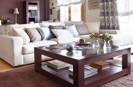 Muebles santa maria for Como decorar una mesa de salon