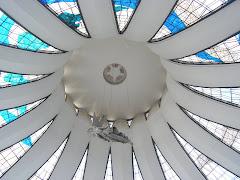 cúpula de la catedral de Brasilia.