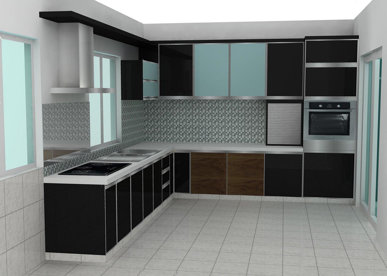 Mez Design Solution Modern Link House Kitchen Design