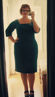 A new green dress, served three ways…