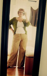 Self-Stitched September – Day 4… my first trousers!