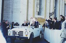 Entrada del Papa al Vaticano
