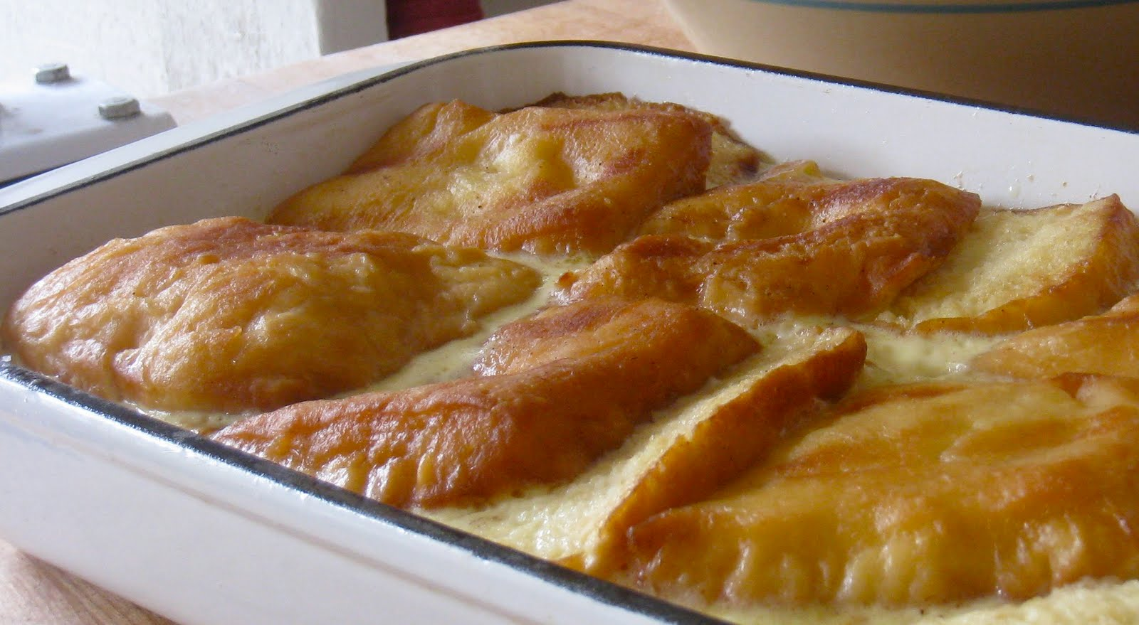Paprika: Doughnut Bread Pudding