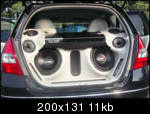 Honda Jazz Modification : Sound System