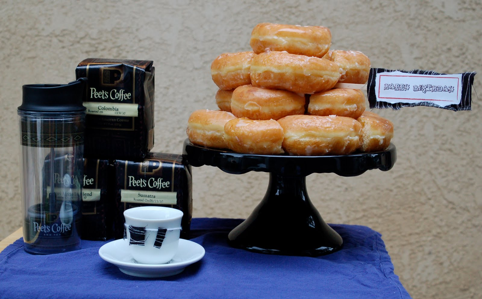 Coffee and Donuts anyone? - Cupcakes and Cutlery