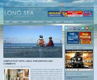 LongSea Blogger Template