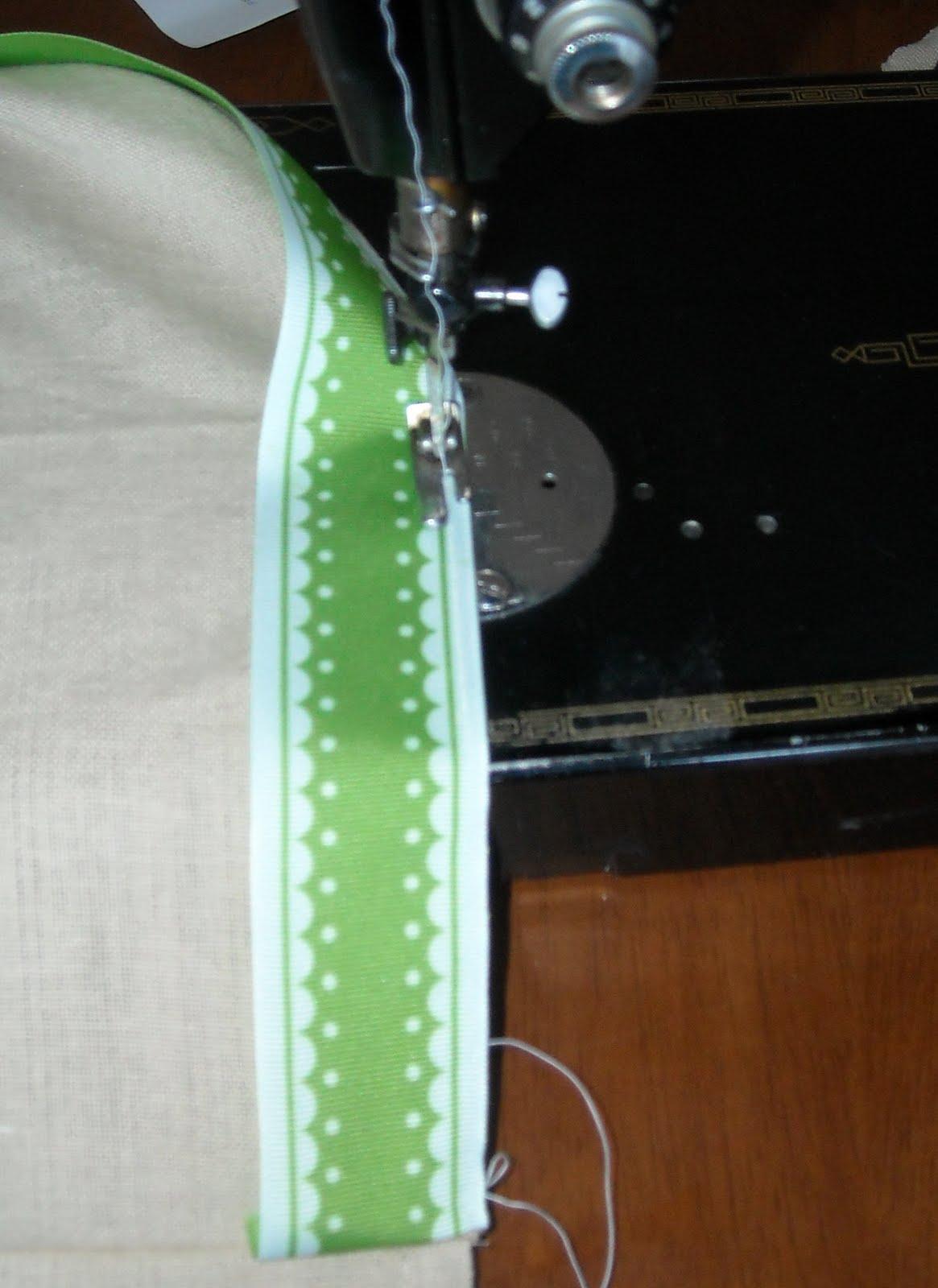 keep home simple  tea towel skirt