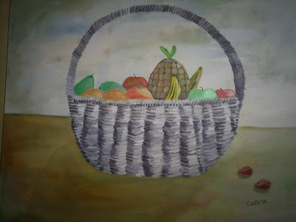 Canasto de frutas