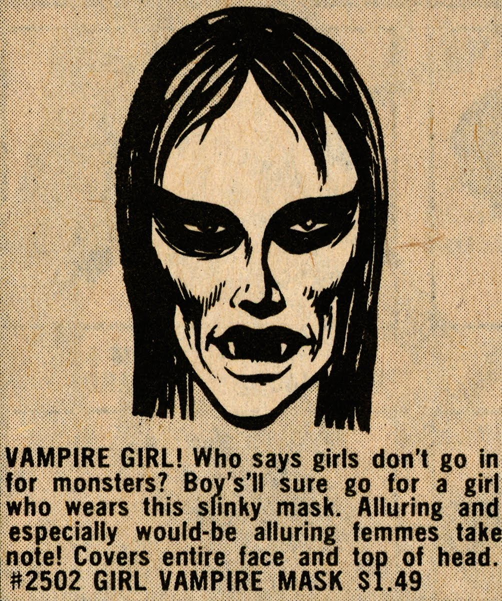 Girl Vampire Ad