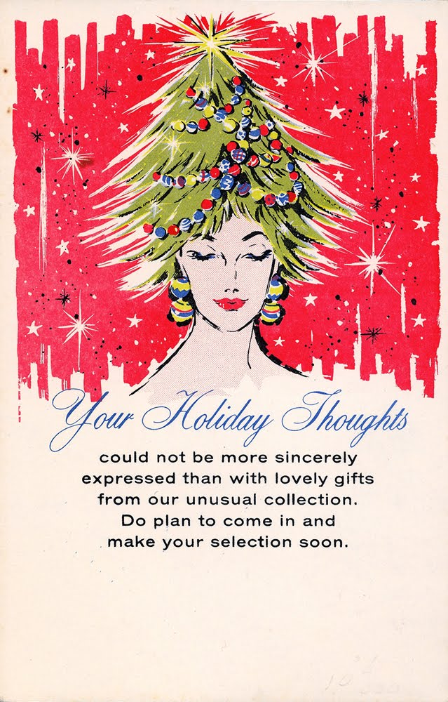 Neato Coolville SALESMAN SAMPLE CHRISTMAS ADVERTISING POSTCARDS