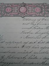 Gammalt släktbrev