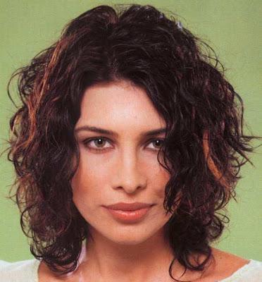 Medium Length Curly Hair Styles - For Beauty Women
