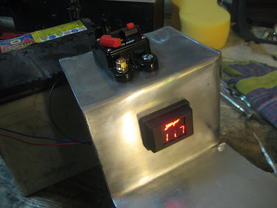 Battery Circuit Voltgae Display LED