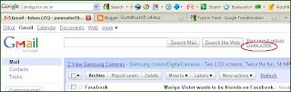 Block unwanted mails in gmail