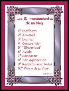 Los 10 Mandamientos Del Blog