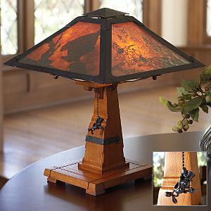 Arts U0026 Crafts Table Lamp