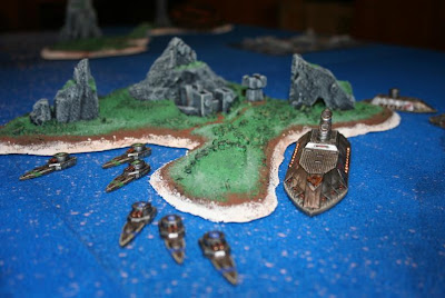 Dwarven Fleet: Photo by Craig Gallant