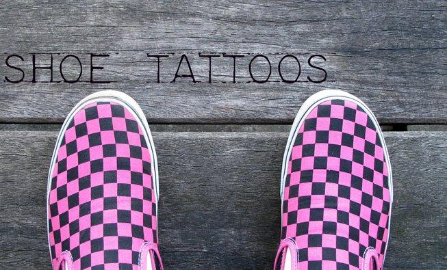 shoe tattoo. Shoe Tattoos