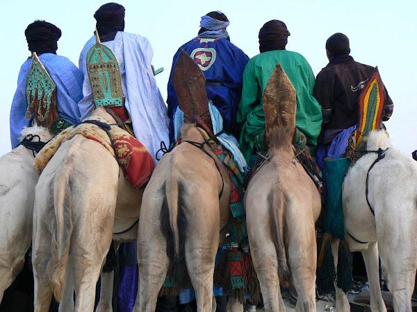 Tuareg Camel Riders at Festival
