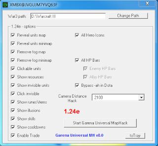 Garena Universal MapHack v8.0 - GUMH 8.0