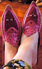 Slippers I bought in Casablanca - my faves!