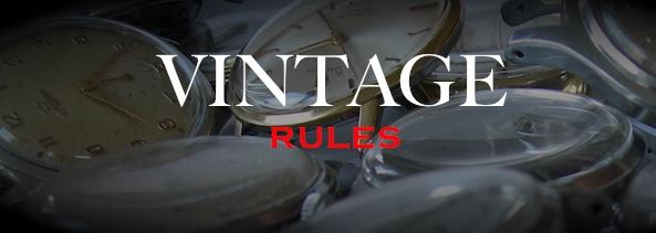 Vintage Rules