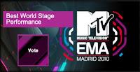 Tom's Blog - MTV EUROPE MUSIC AWARDS IN MADRID!! Blogtom