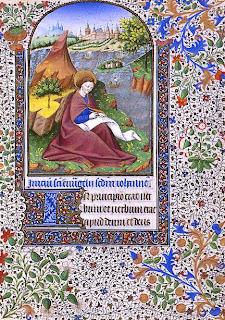 """""""Au commencement était le Verbe, Et le Verbe était auprès de Dieu, et Le Verbe était Dieu""""  Saint Jean sur l'île de Patmos"""