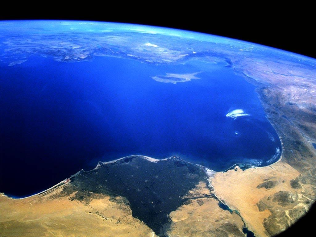 Simple: la tierra desde el espacio