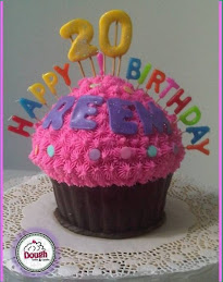 B-Day Giant Cupcake