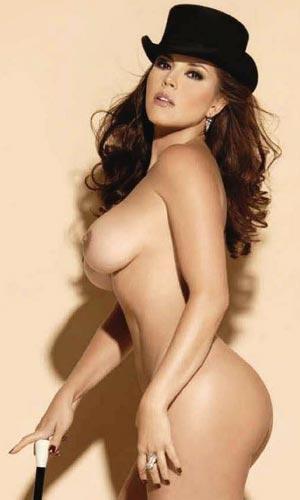 Etiquetas Alicia Machado Modelos Morochas Revista Playboy