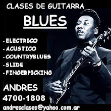Clases de Guitarra Blues