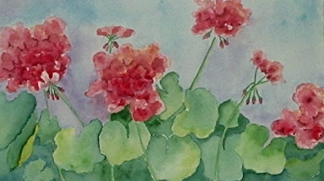 Mom's Geraniums