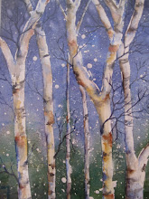 Winter Birches I