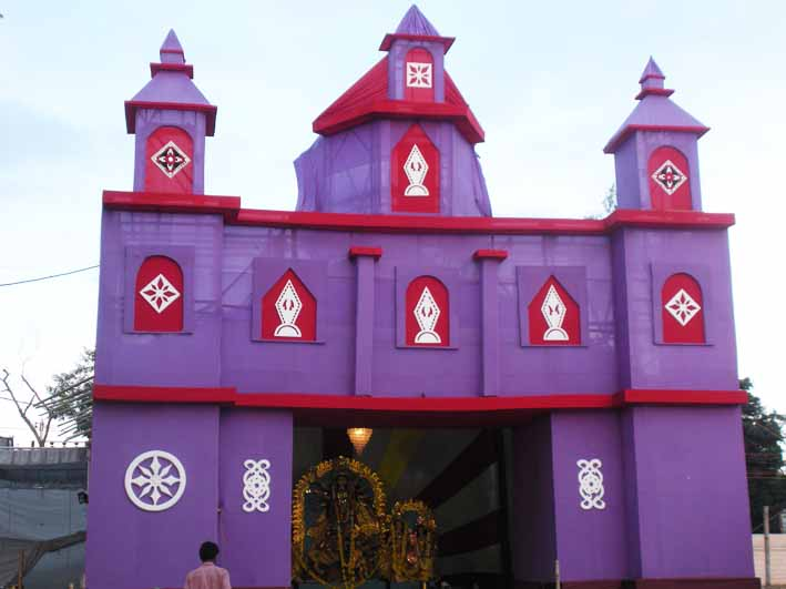 Kisholoy durga puja 2110 puja pandal at arera colony thecheapjerseys Images