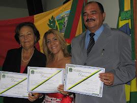 Diplomação (vereadora), Prefeita e Vice Prefeito 26 de Dezembro 2008