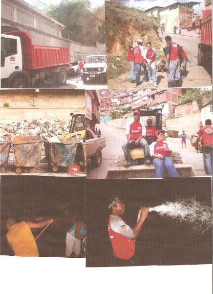 Se implemento el saneamiento en el eje de Jose Felix Ribas