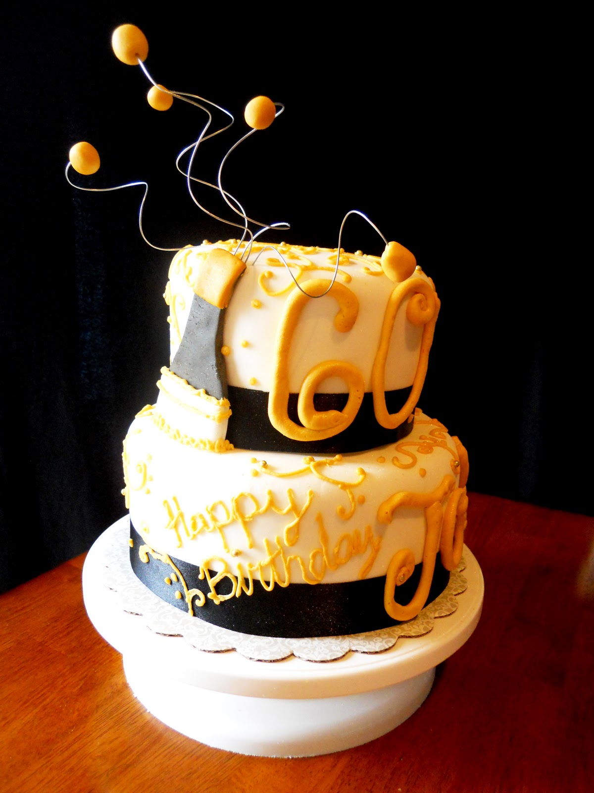 Images Of Birthday Cake And Champagne : Lin s Kitchen: Champagne Birthday Cake