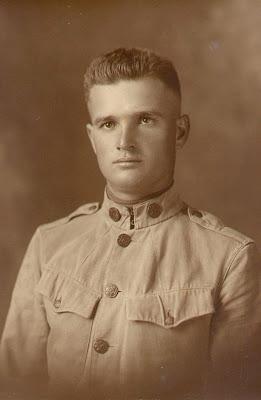 William Spence Davis Sr WWI 1917 age 22