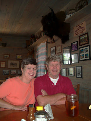 Suzanne Davis and Bob Shubert in Palo Pinto Texas
