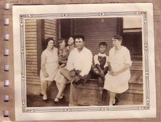 Ina Stone with nephew Chock Stone and family