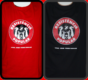 Camisetas da Resistncia Popular
