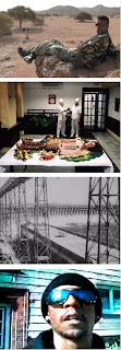 arriba-abajo: `La mort de la Gazelle´, `Cooking History´, `The American who electrified Russia´ y `R.I.P.´