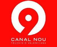 logo Canal 9, televisión valenciana