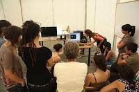 `En Escena´: taller de animación, con Rocío Huertas