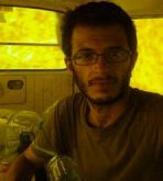 Alberto Arce, en Gaza (diciembre 2008)