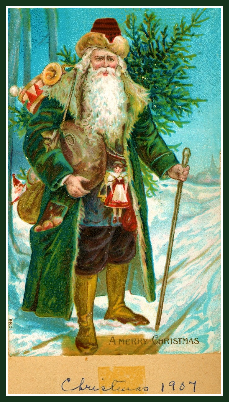 Body Soul and Spirit: Old Christmas Cards