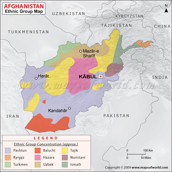 War News Updates Is Partitioning Afghanistan The Best Available - Us and its allies map