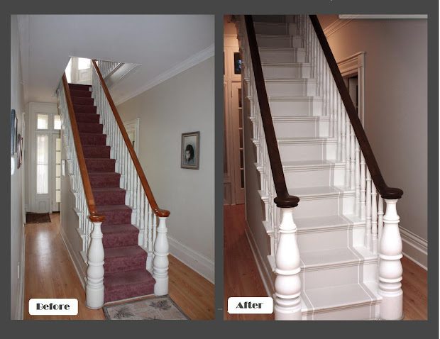 Painted Stair Railing Ideas