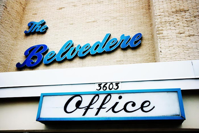 A dated motel in Virginia Beach called The Belvedere.